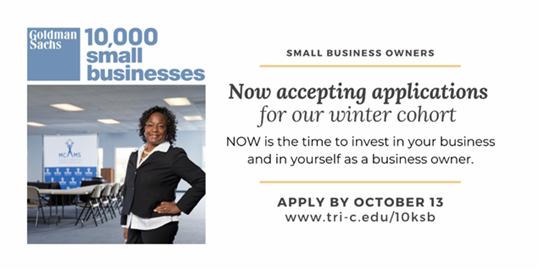 Apply NOW For The Goldman Sachs 10,000 Small Businesses Program
